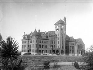 California State Reform School at Whittier, ca.1901 (CHS-1157)