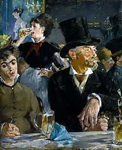 Edouard Manet - At the Café - Google Art Project