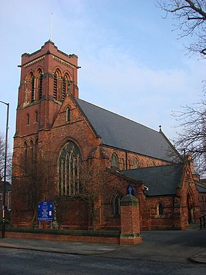 Parish Church of St Peter, Yarm Road, Stockton on Tees - geograph.org.uk - 698487.jpg