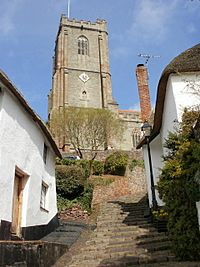 St Michael's Church tower, Minehead - geograph.org.uk - 1766929