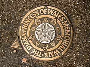 The Diana, Princess of Wales Memorial Walk – Green Park