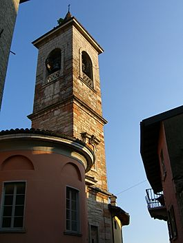 The church tower of Arzo