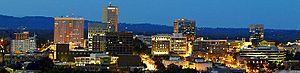 Greenville skyline
