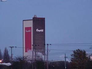 Kings-lynn-campbells-soup-tower