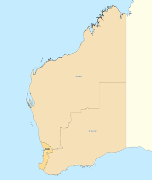 Rest of Western Australia divisions overview 2010