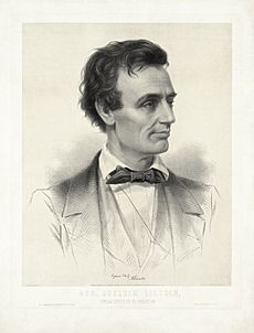 Thomas Hicks - Leopold Grozelier - Presidential Candidate Abraham Lincoln 1860