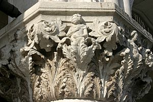 Venice - Doge's Palace – Gothic capital 10