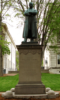 William Goebel statue