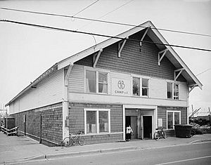 Alaska Native Brotherhood Hall, Sitka Camp No. 1, Katlian Street, Sitka, (Sitka Borough, Alaska)
