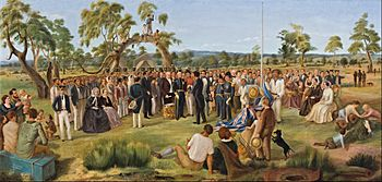 Charles Hill - The Proclamation of South Australia 1836 - Google Art Project