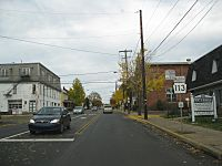 Pennsylvania State Route 113 In Souderton