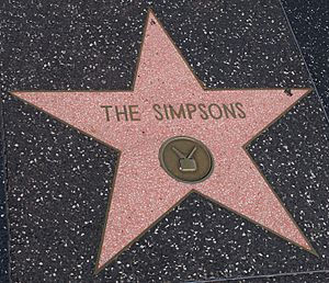 The Simpsons star