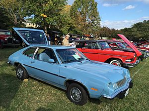 1978 Ford Pinto hatchback at 2015 Rockville Show 3of5