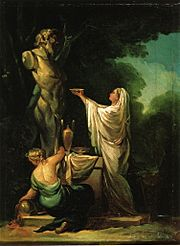 Francisco de Goya - The Sacrifice to Priapus (1771)