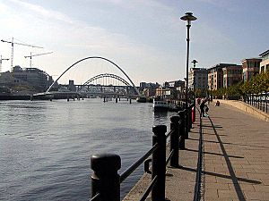 Newcastle Upon Tyne bridges