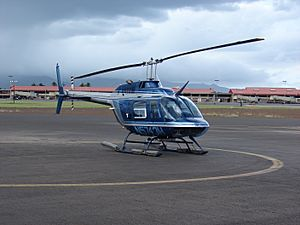 Starr 080207-2255 Bell 206B helicopter (N5743H) at Kahului Heliport