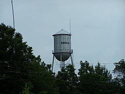 Gould water tower