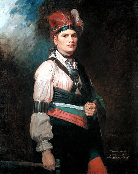 Joseph Brant painting by George Romney 1776 (2)