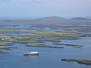 Leaving Lochmaddy - geograph.org.uk - 929584