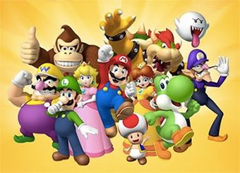 List Of Mario Series Characters Facts For Kids