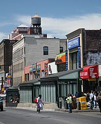 Roosevelt Avenue in Flushing, Queens is the origin of the Long Island Koreatown.