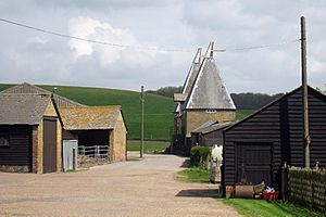 Oast House at Ford Manor Farm, Ford, Hoath, Kent