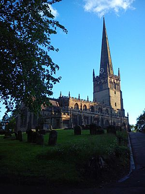 St John the Baptist Church Bromsgrove May 2015
