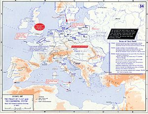 Strategic Situation of Europe 1807