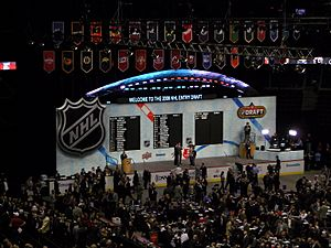 2008 NHL Entry Draft Stage
