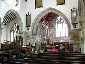 All Saints Church Barwick-in-Elmet interior 2015 01