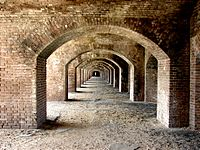 Fort jefferson arches dry tortugas
