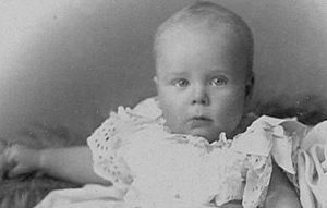 Henry Allingham in infancy