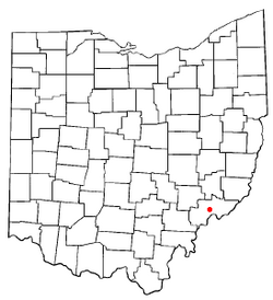 Location of Devola, Ohio