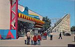 Silver Flash roller coaster Riverview Park Chicago.JPG