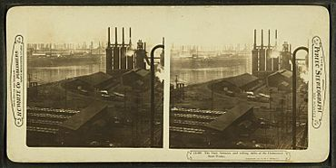 The blast furnaces and rolling mills of the Homestead Steel Works, by H.C. White Co.