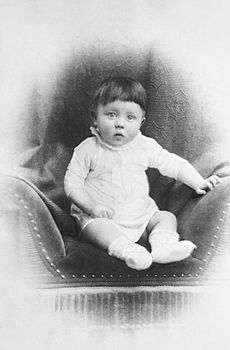 Bundesarchiv Bild 183-1989-0322-506, Adolf Hitler, Kinderbild