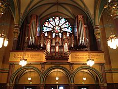 Cathedral of the Madeleine organ