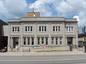 City Hall Engineering Building in Timmins, Ontario