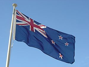 Flag of New Zealand Facts for Kids