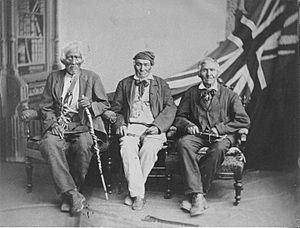 Six Nations survivors of War of 1812