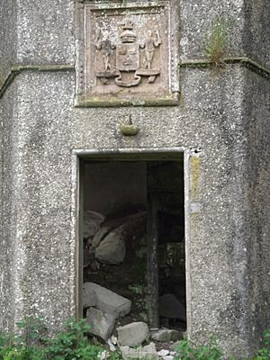 South Door of Kenmure Castle