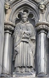 Statue of Gavin Douglas, Bishop of Dunkeld