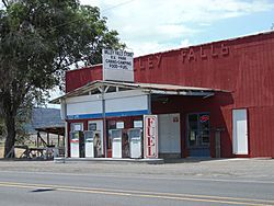 Valley Falls store and gas station