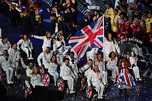 TeamGB at the Paralympic Opening Ceremony