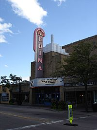 The Edina Theater in September 2006