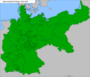 Map Of Germany Prior To Unification.Unification Of Germany Facts For Kids