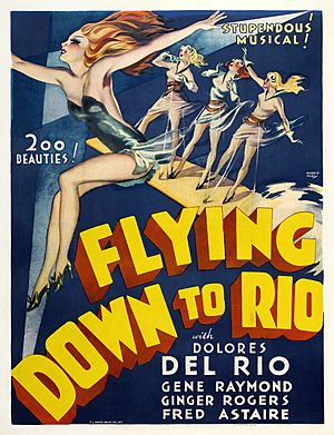Poster - Flying Down to Rio 01 Crisco restoration