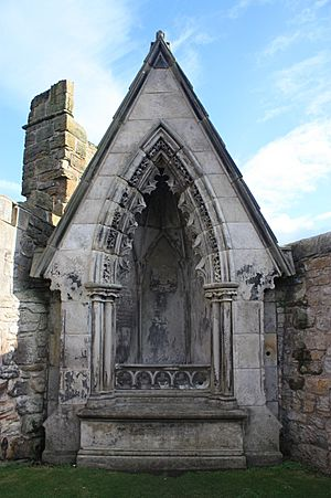 The Whyte-Melville memorial, St Andrews