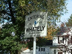 Whately Road Sign