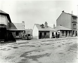 Cumberland Street (Numbers 120-130), The Rocks (NSW) (Rocks Resumption photographic survey) (16135974514)